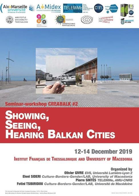 "BBB goes to Thessaloniki ""CREABALK SEMINAR"", 12/2019"